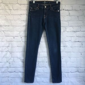 7 For All Mankind The Skinny Jean Size 25